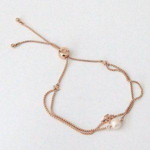 Tory Burch Kira Pearl Slider Bracelet